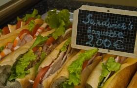 Baguette Sandwiches, Paris