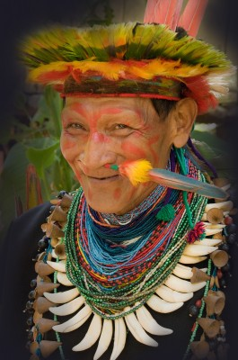 Medicine Man and Shaman, Cuyabeno, Amazon