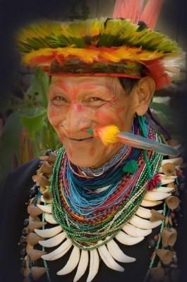 Medicine Man and Shaman, Cuyabeno, Amazon