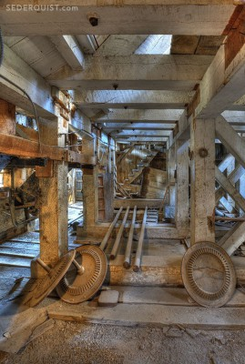 stampmill timbers, Bodie, California